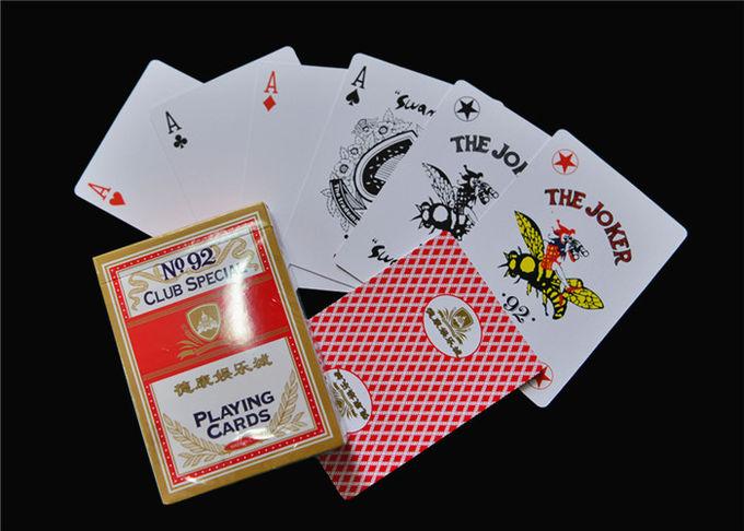 Kertas Kartu Poker Pribadi Logo Sendiri Dapat Dicetak EN71 ...